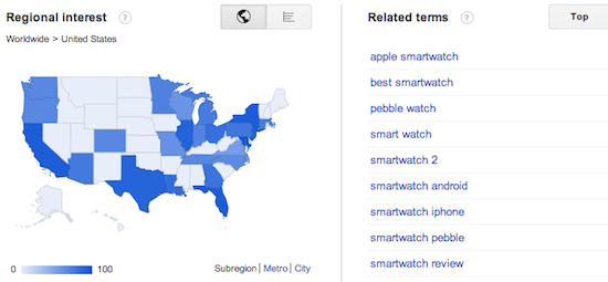 google trends geography