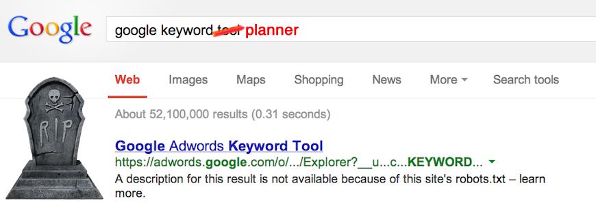 Google Keyword Planner Review