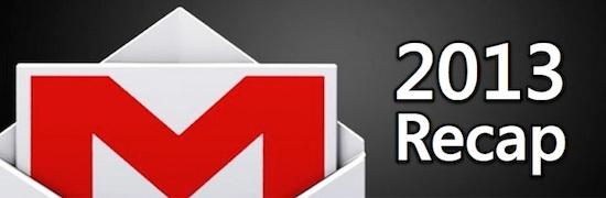 Gmail 2013 Recap Post