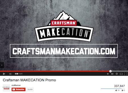 Craftsman Makecation YouTube
