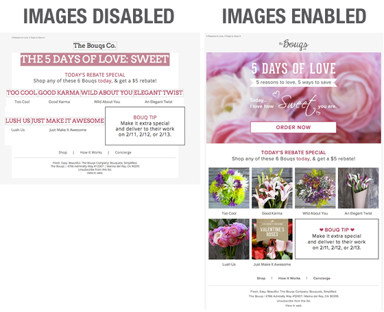 email image design tips