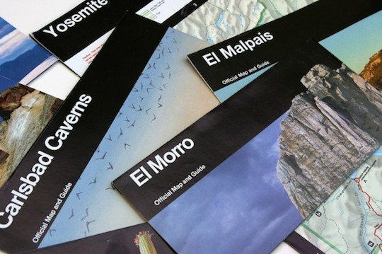 Massimo Vignelli - National Parks Brochures
