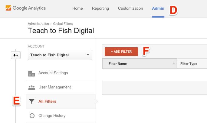 Create Site Filter